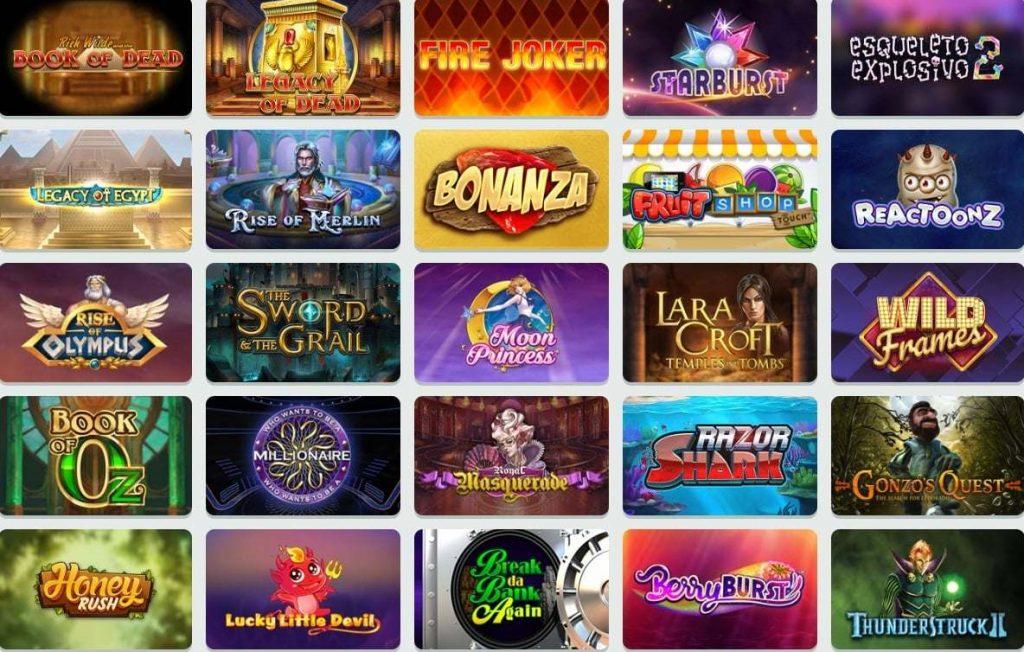 casino slot club index